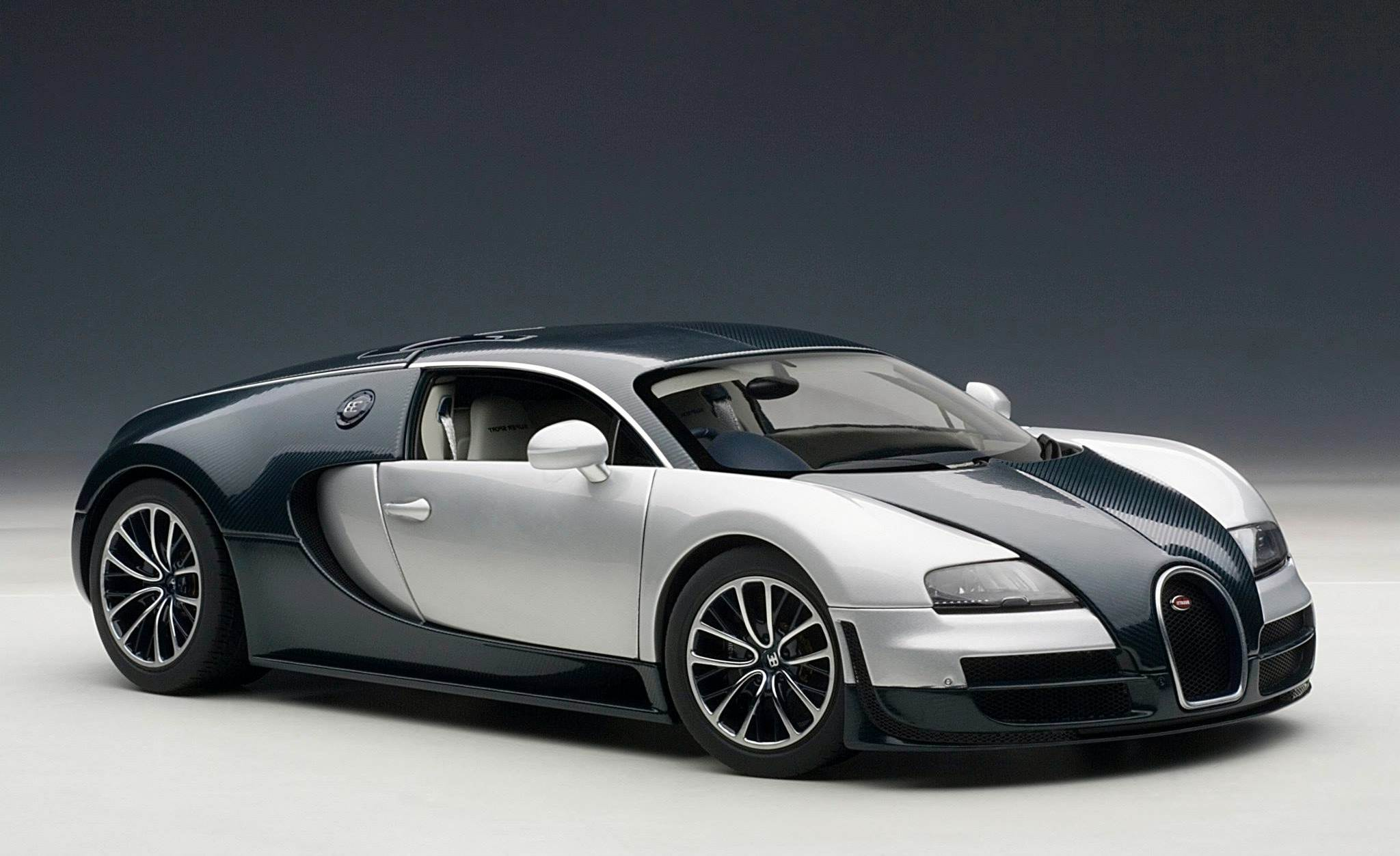 White And Black Bugatti Veyron Wallpaper   image 136 2048x1252
