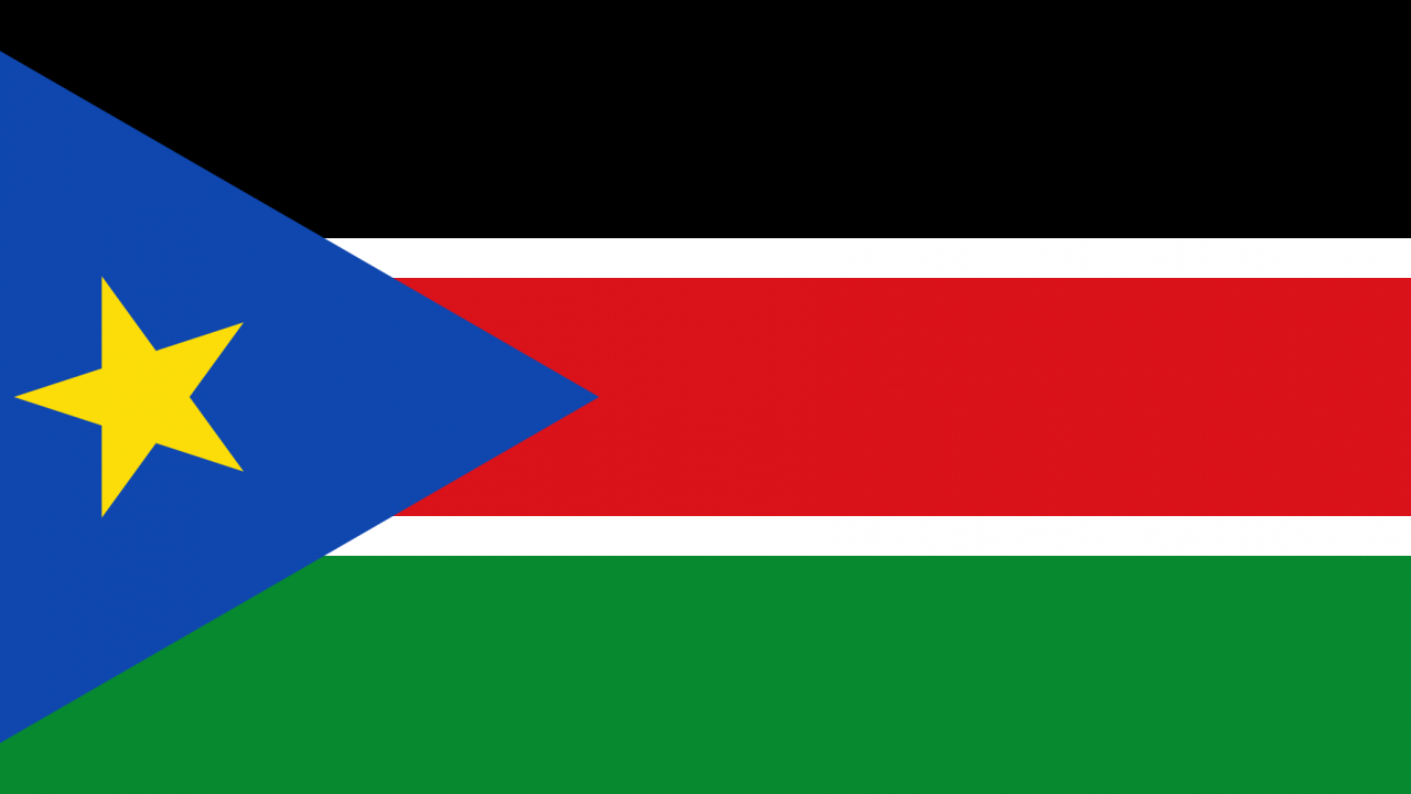 South Sudan Country Flag Wallpaper PaperPull 1280x720
