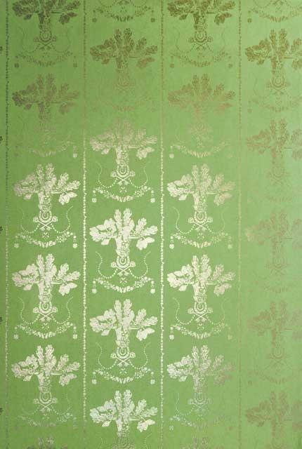 Georgian Green Lucky Charms Wallpaper Georgian Style Pinterest 430x640