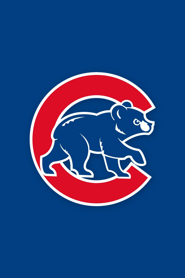 Chicago Cubs Logo Wallpaper Iphone Chicago cubs iphone wallpapers 640x960