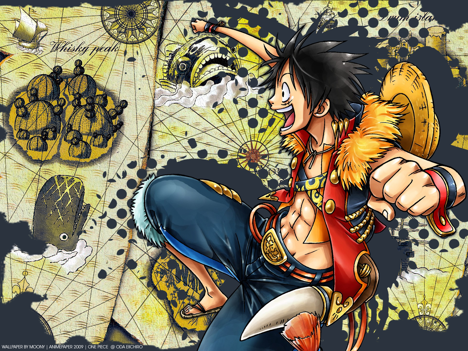 One Piece Wallpaper Ruffy   One Piece Wallpaper 1600x1200