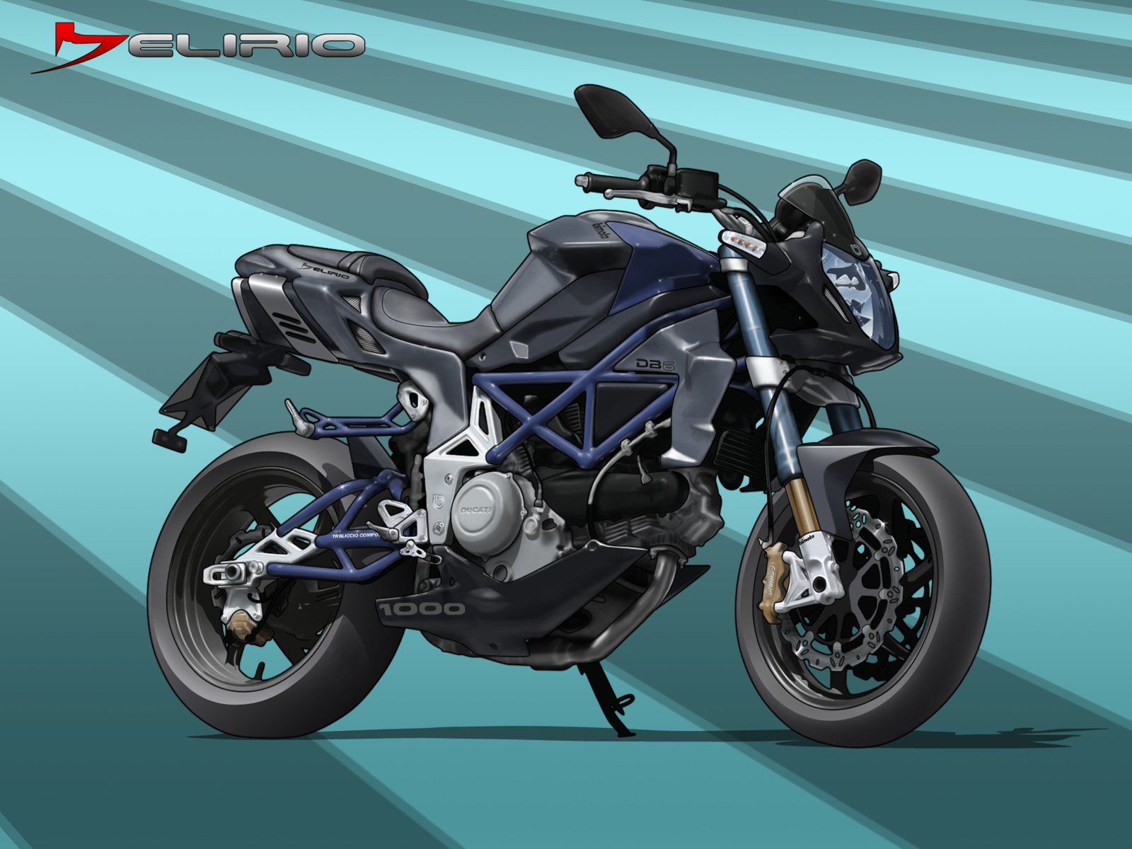 Motorcycle Desktop Backgrounds and Wallpaper       Bimota DB6 Delirio 1600x1200