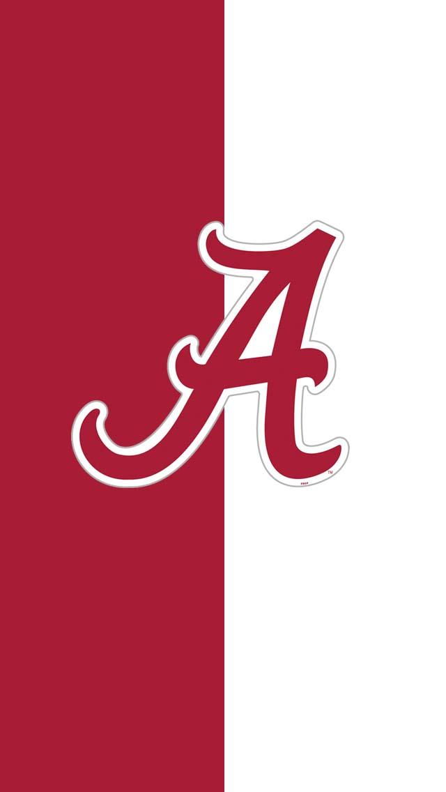 Alabama Crimson A IPhone 5 Wallpaper 640x1136