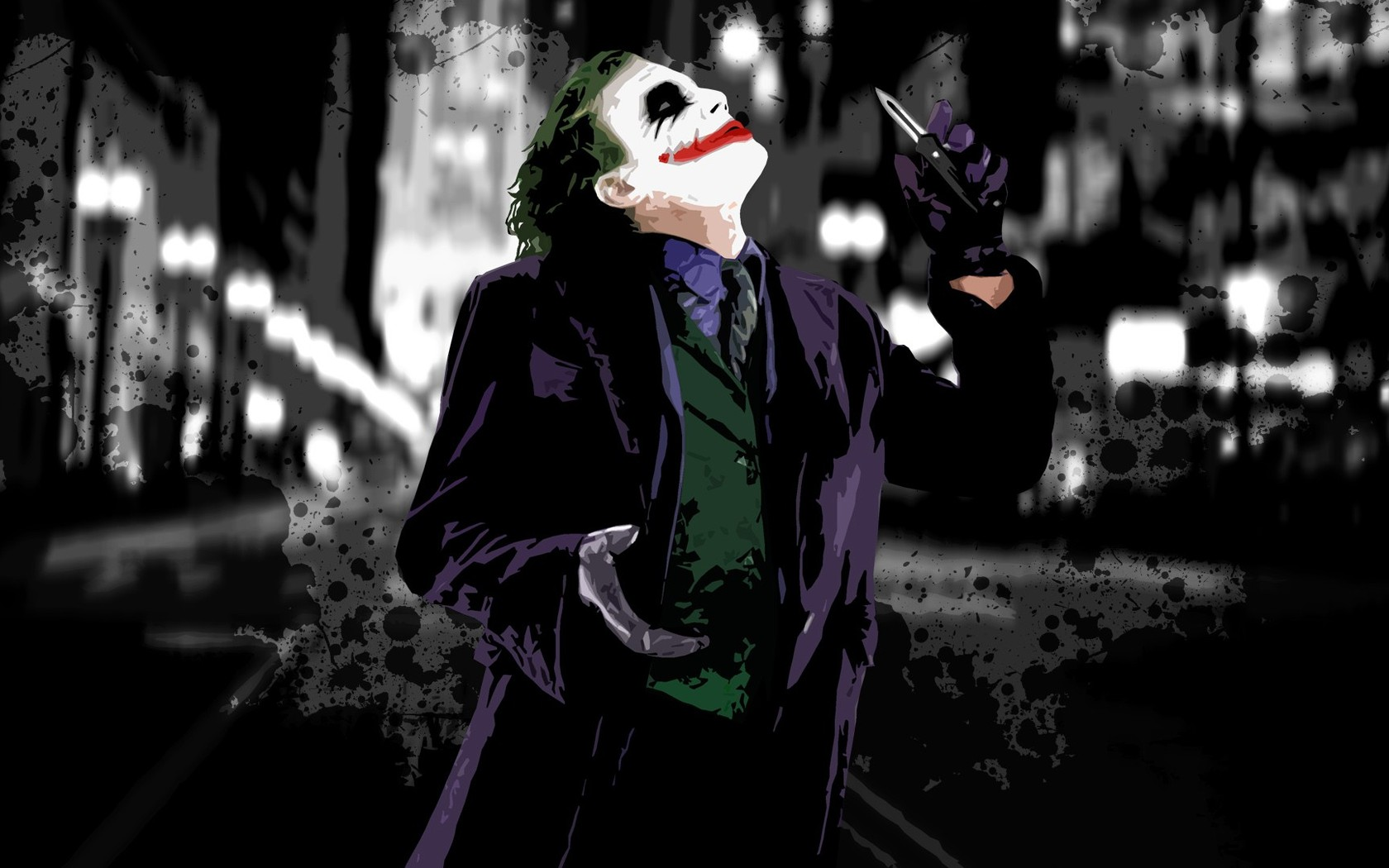 The Joker   The Dark Knight wallpaper 4992 1680x1050