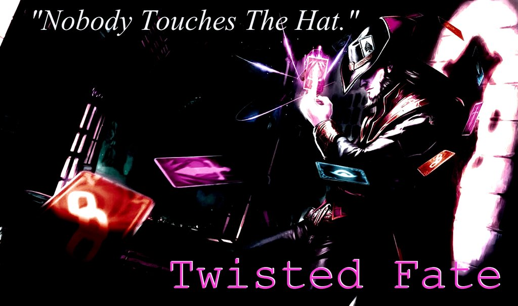 Twisted Fate Wallpaper by DragonTroopBeta 1024x604