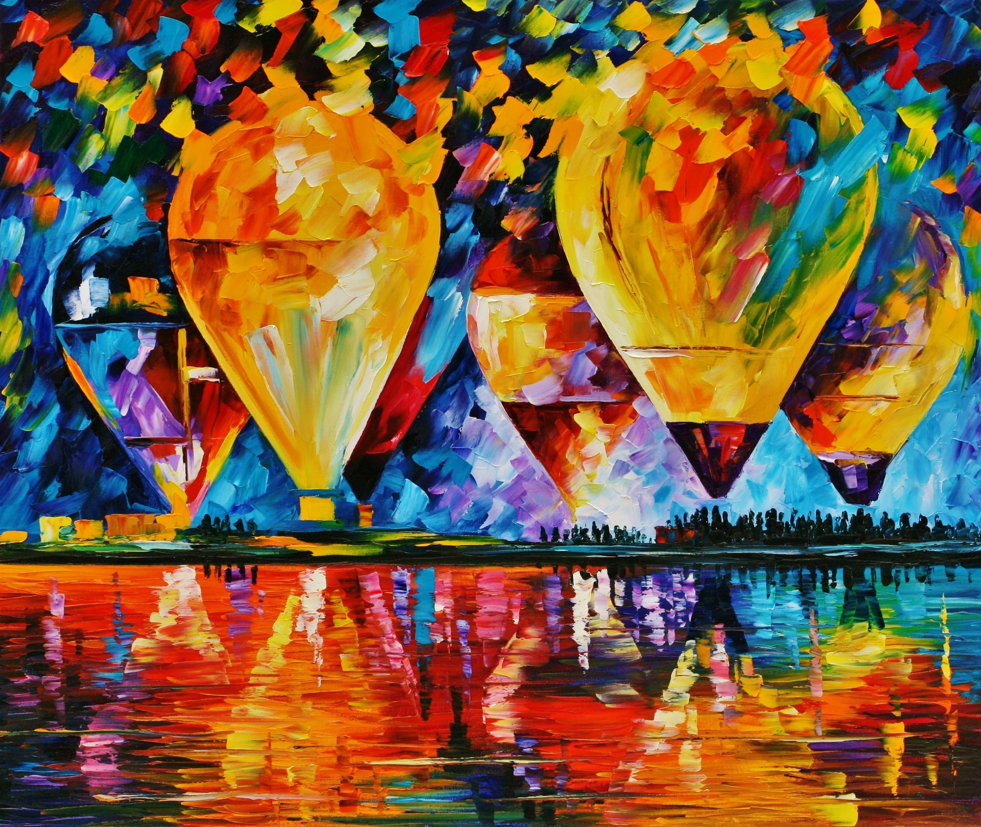 Leonid Afremov wallpaper 21jpg 1920x1619