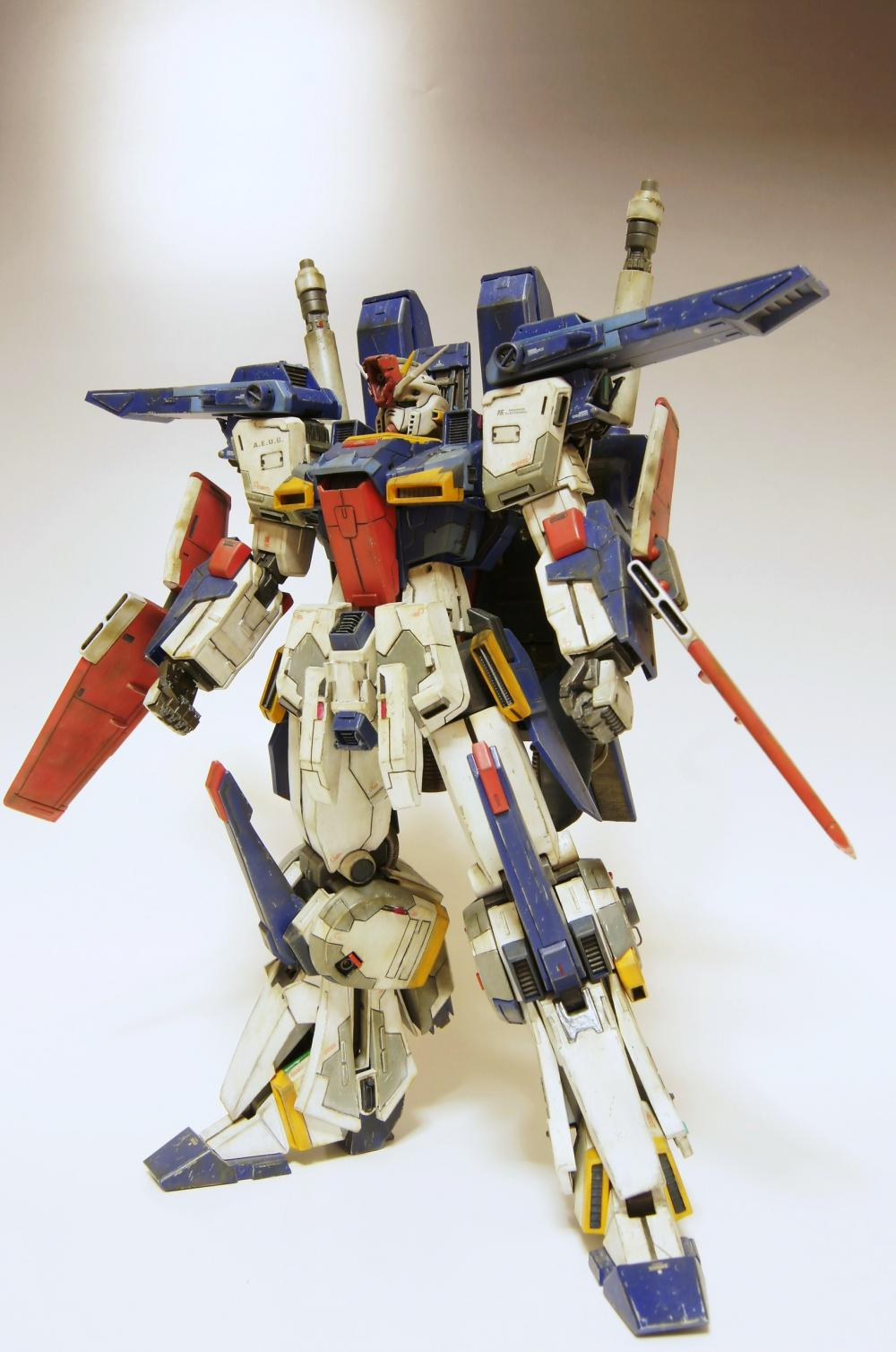 New Amazing Remodeling Work by MASATO ZZ Gundam Photoreview No 1000x1507