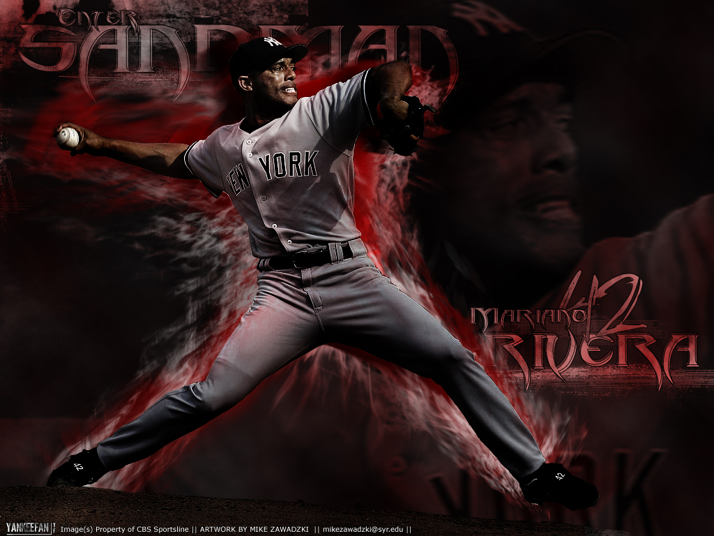Mariano Rivera, Enter Sandman by YankeeFan on DeviantArt