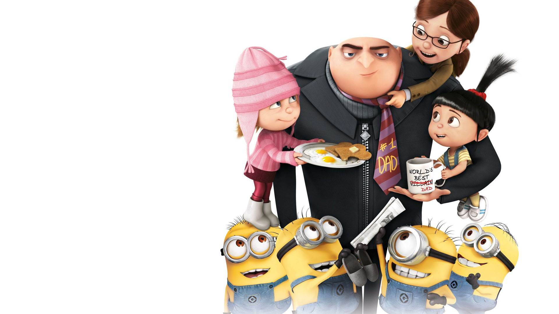 Despicable Me 2   World Best Dad   Wallpaper 3100 on WallpaperMade 1920x1080