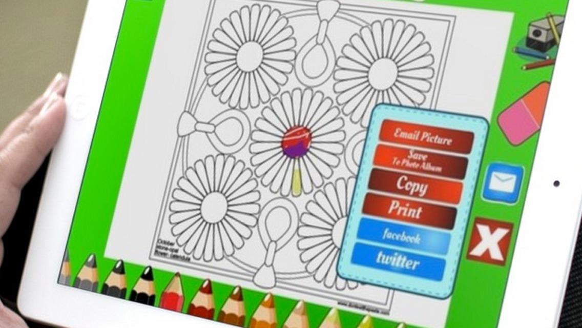 App Shopper Mandala Coloring Pages Catalogs 1136x640
