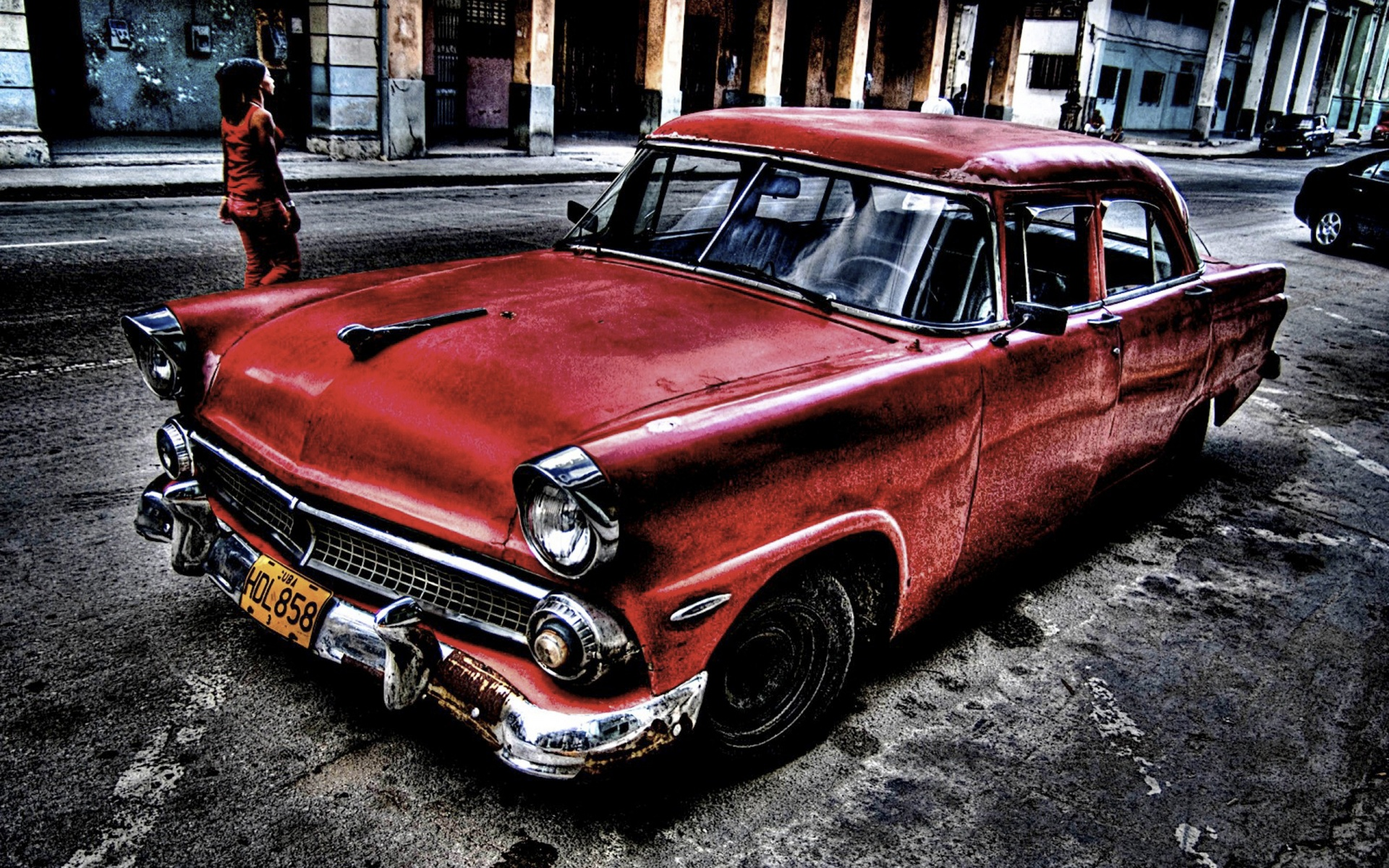 74 Old School Cars Wallpaper On Wallpapersafari