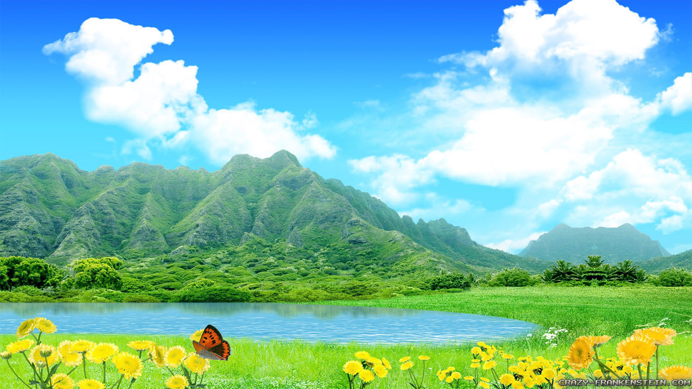 download Wide HDQ Pretty Sunny Day Wallpapers 38 BSCB 1366x768