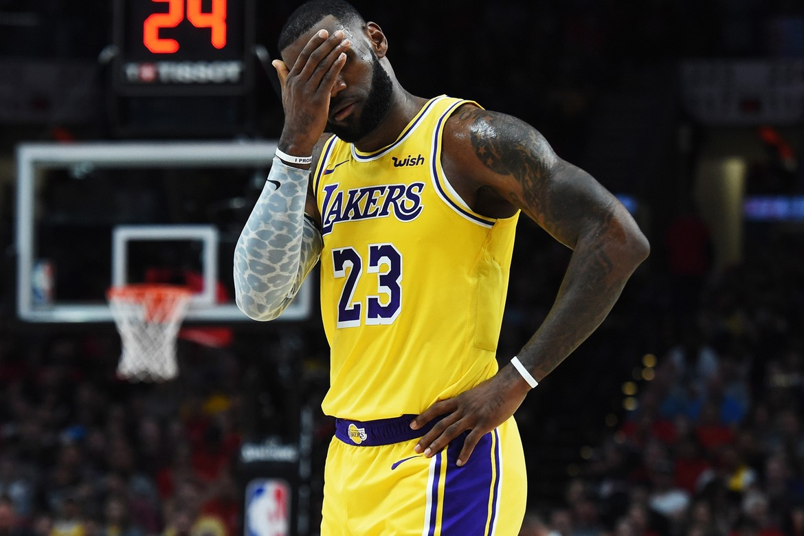 Lakers Want LeBron to Stop Reacting to Mistakes HYPEBEAST 1170x780