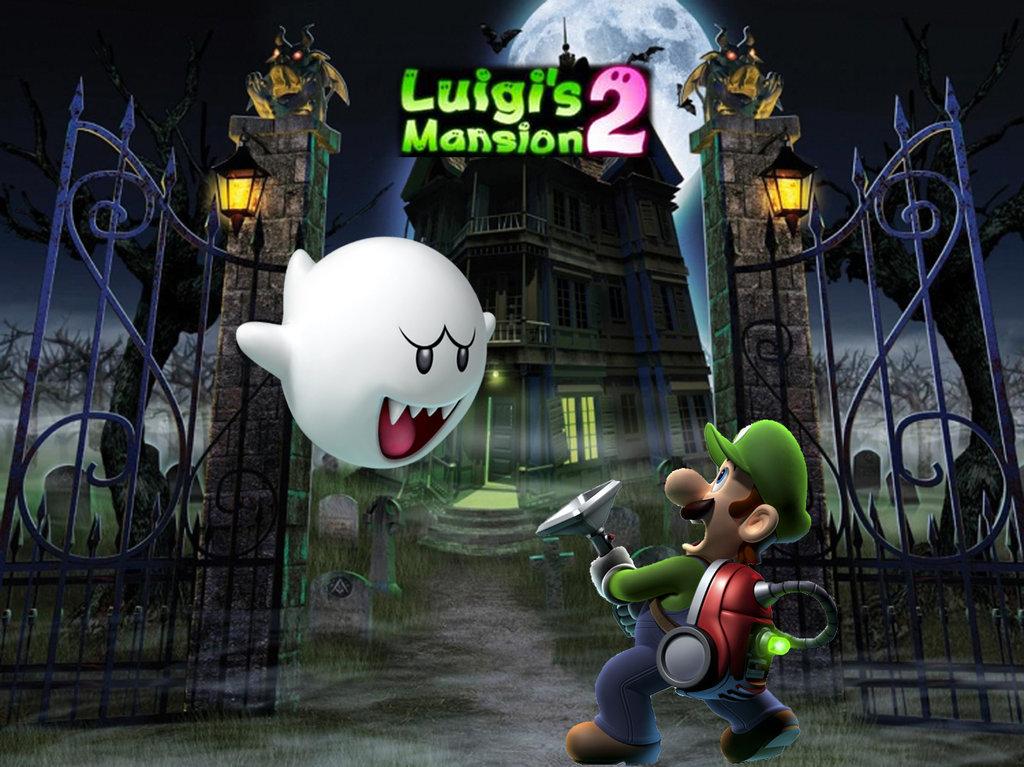 Luigi's Mansion Wallpaper