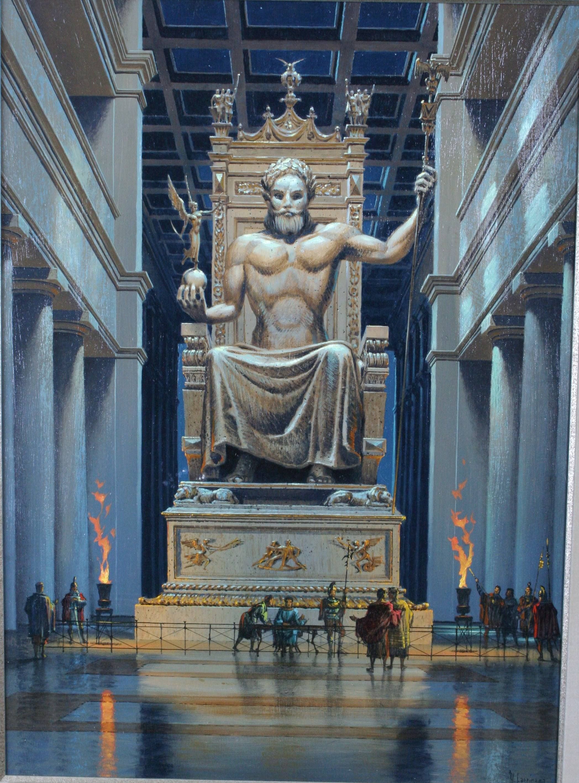 Best 50 Statue of Zeus at Olympia Wallpaper on HipWallpaper 2096x2835