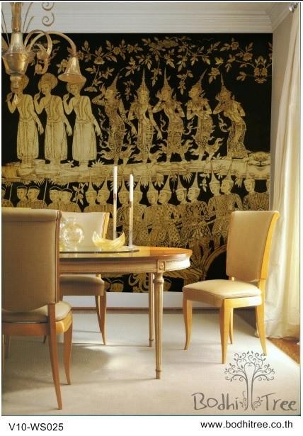 Asian Art Wallpaper Gold Black   Asian   Wallpaper   other metro 428x615