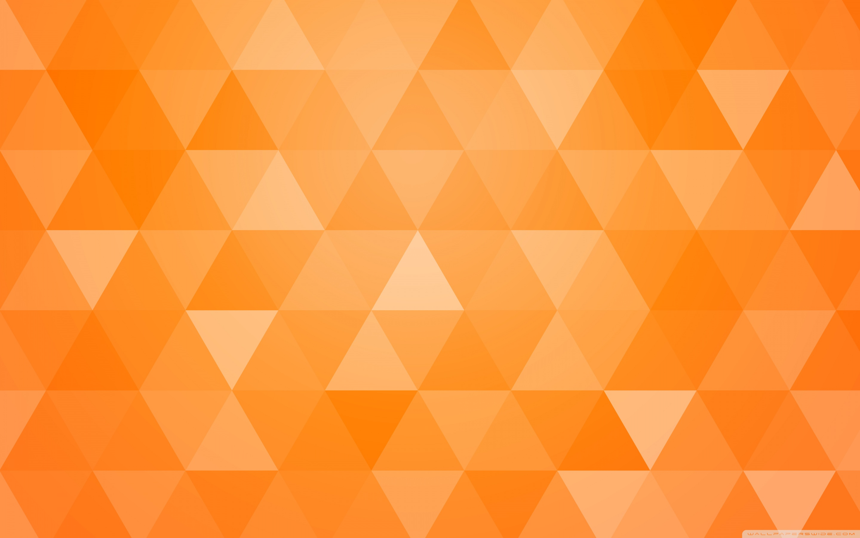 Download Orange Abstract Geometric Triangle Background UltraHD 2880x1800