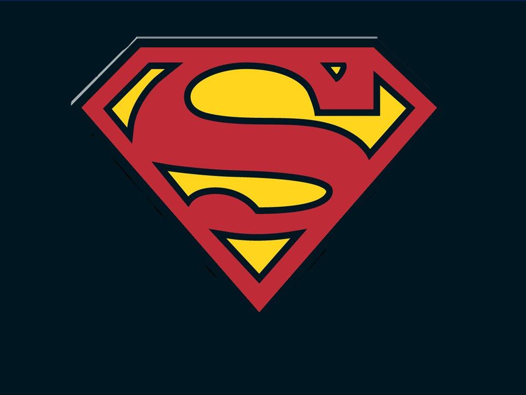 Superman Insignia Black Wallpaper   Superman Images Gallery 1024x768
