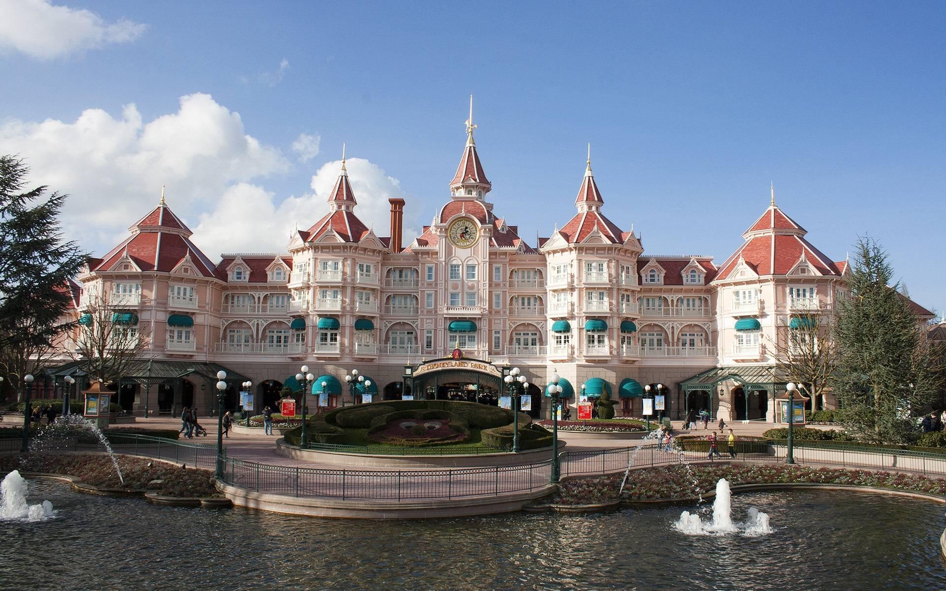 Disneyland Paris Castle Hotel Wallpaper 1920x1200