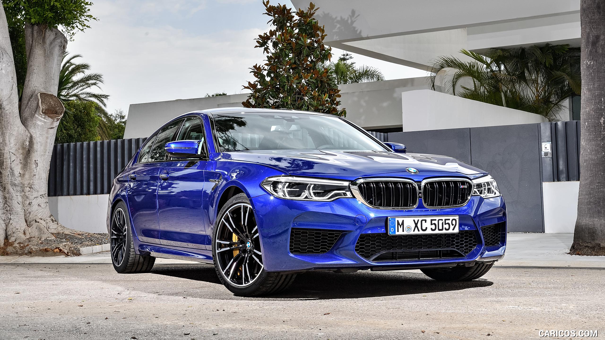 2018 BMW M5 F90   Front Three Quarter HD Wallpaper 17 2560x1440