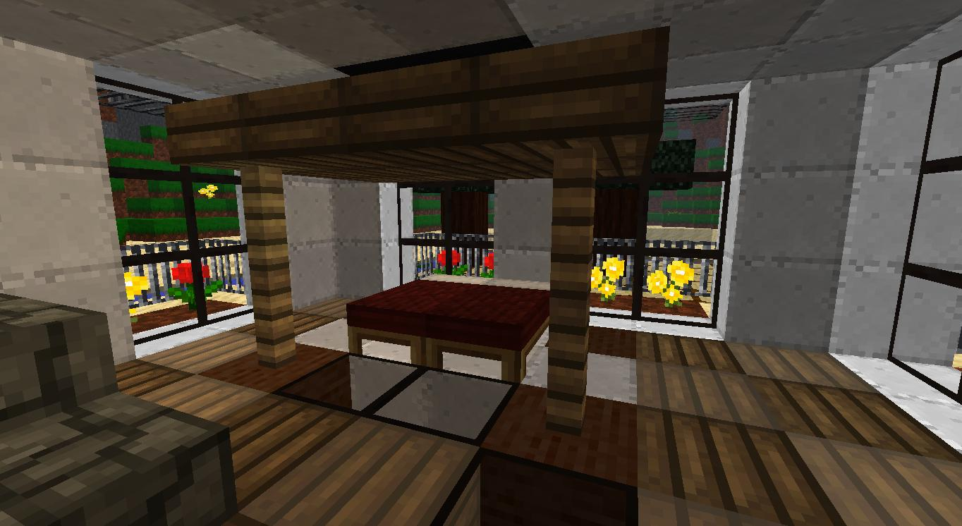 My Minecraft Beach House Bedroom by lilgamerboy14 1364x746