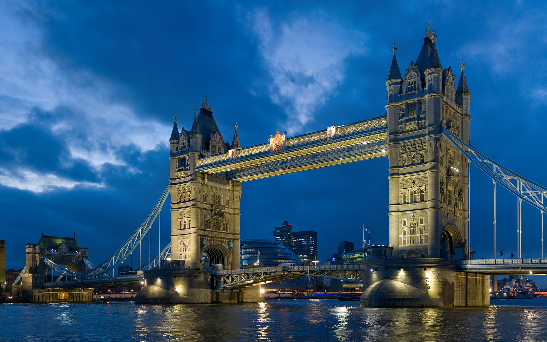 Tower Bridge London Twilight Wallpapers HD Wallpapers 1920x1200