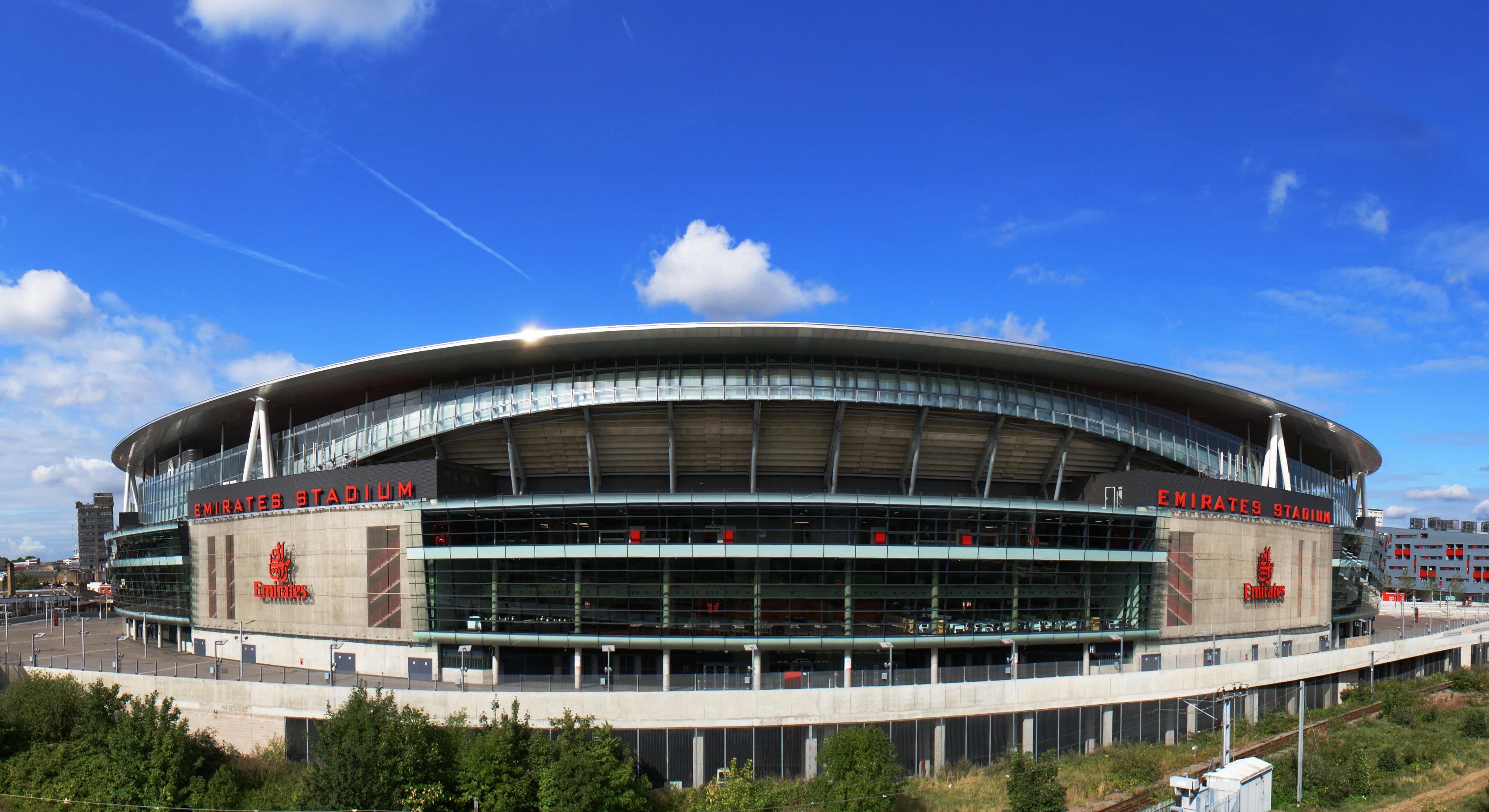 Arsenal Emirates Stadium Wallpaper HD 3636x1983