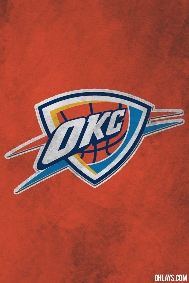 Free Download Oklahoma City Thunder Iphone Wallpaper