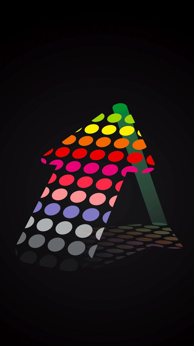 Colorful Arrow iPhone 5 Wallpaper Download iPad Wallpapers iPhone 640x1136