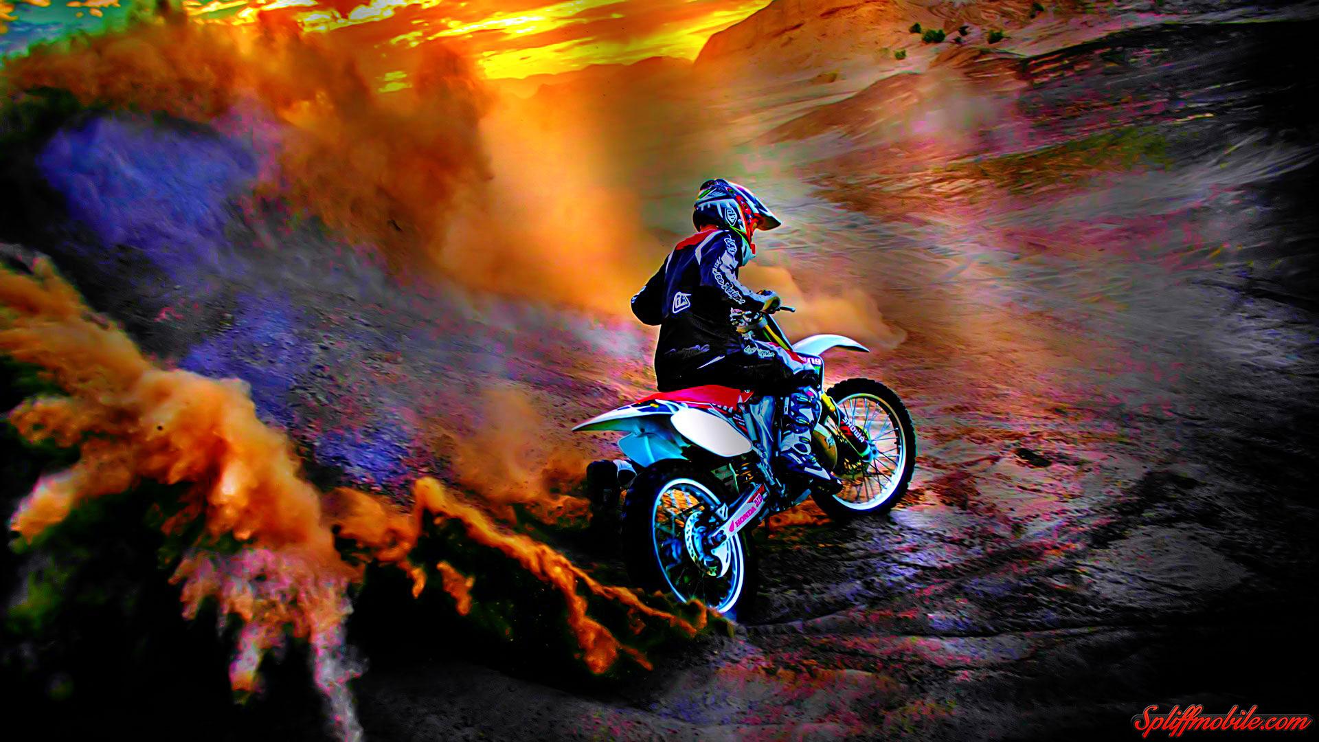 Pics Photos   Moto Cross Wallpaper 1920x1080