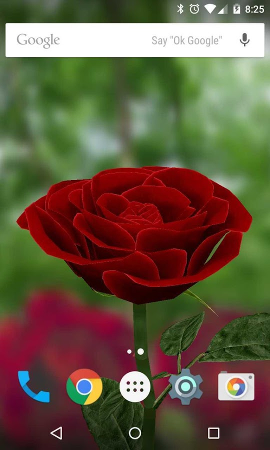 3D Rose Live Wallpaper   Android Apps on Google Play 540x900