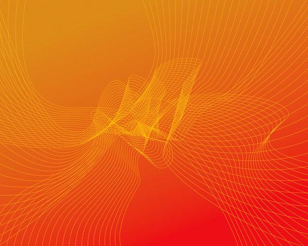 Abstract Orange Wallpaper by dotweb 600x480