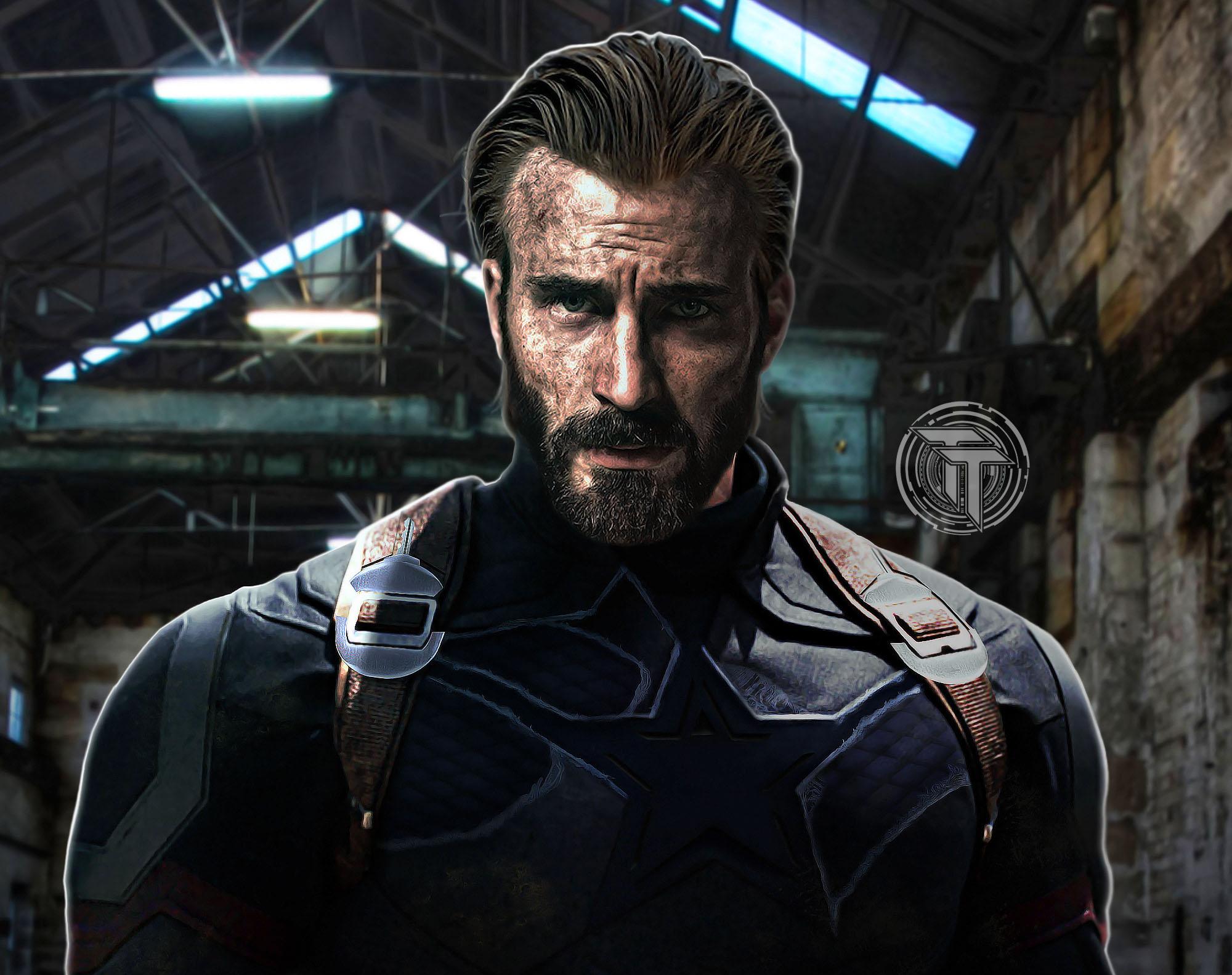 Captain America Beard Avengers Infinity War 2018 2748 Wallpapers 2000x1583