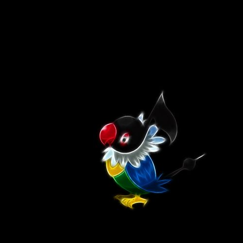 Pokemon Wallpaper Picture For iPhone Blackberry iPad Chatot Pokemon 500x500