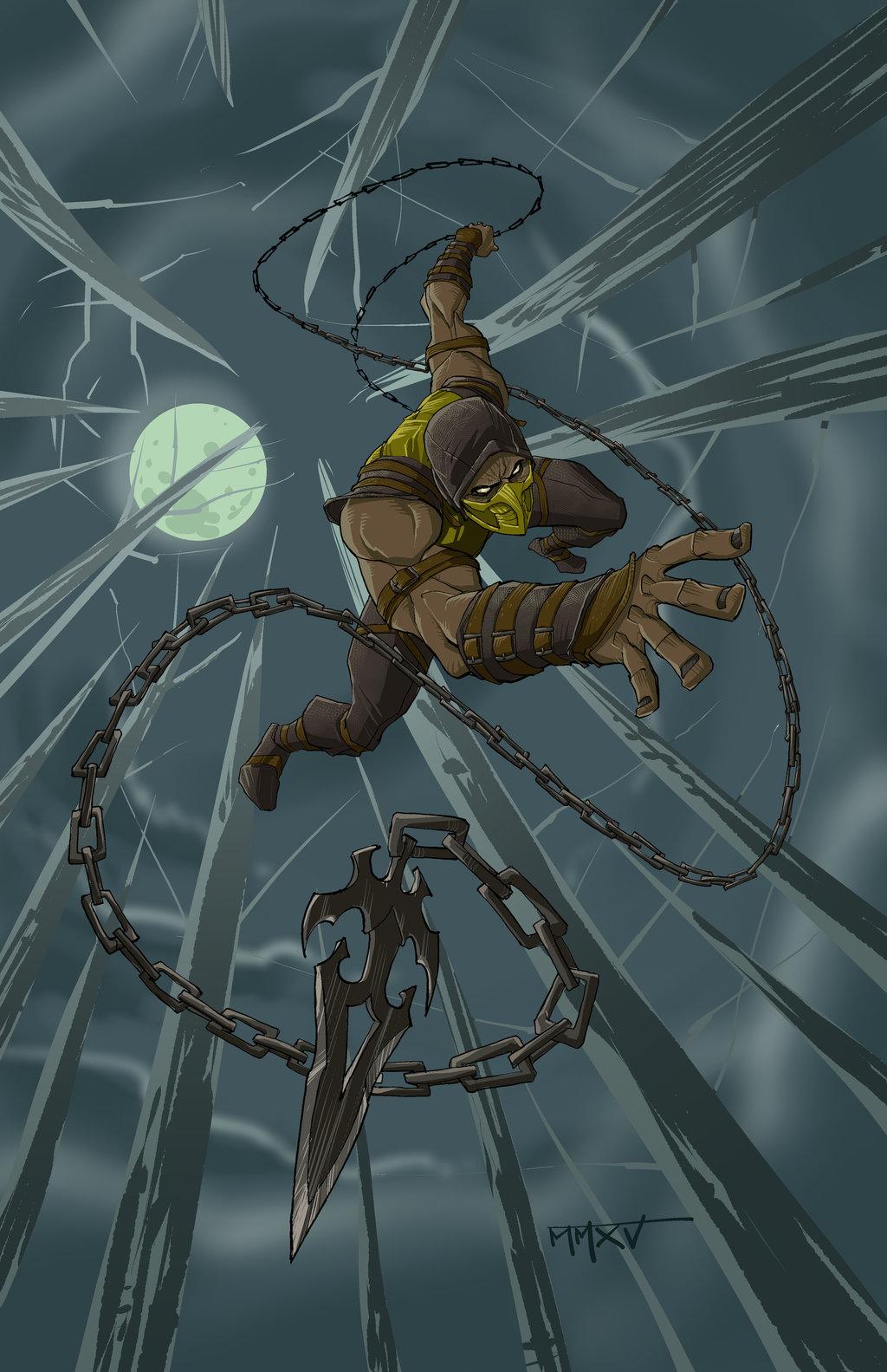 Scorpion MKX by jakeallenesq 1024x1583