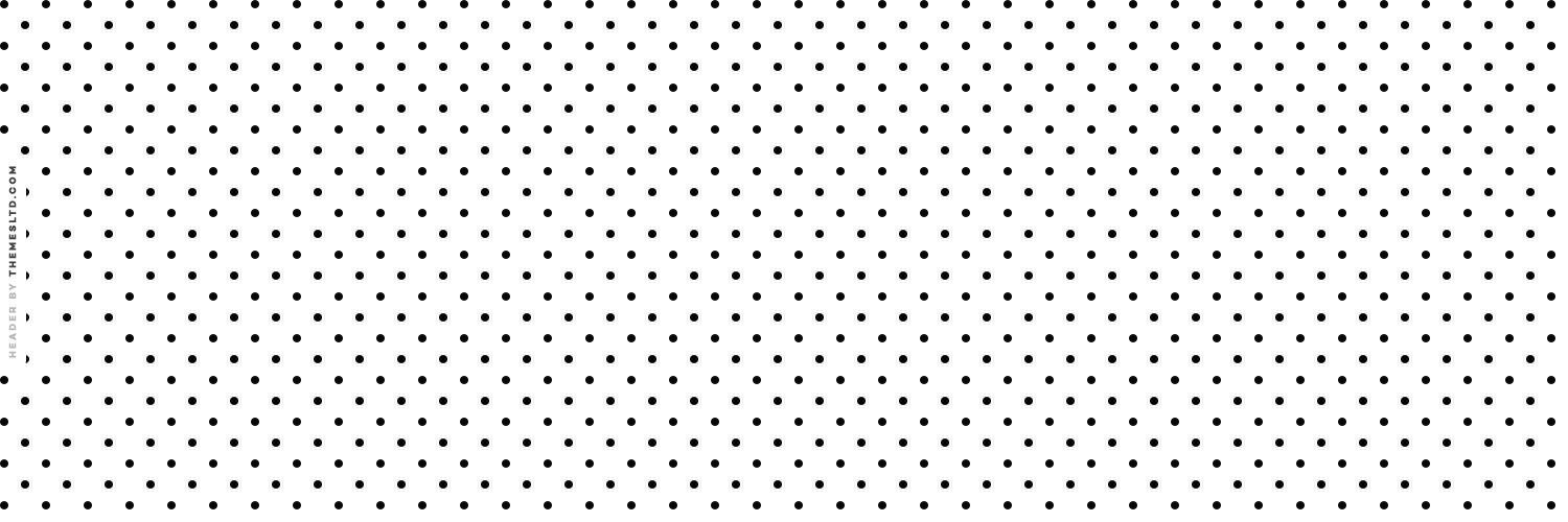White Polka Dots Twitter Header - Polka Dot Wallpapers