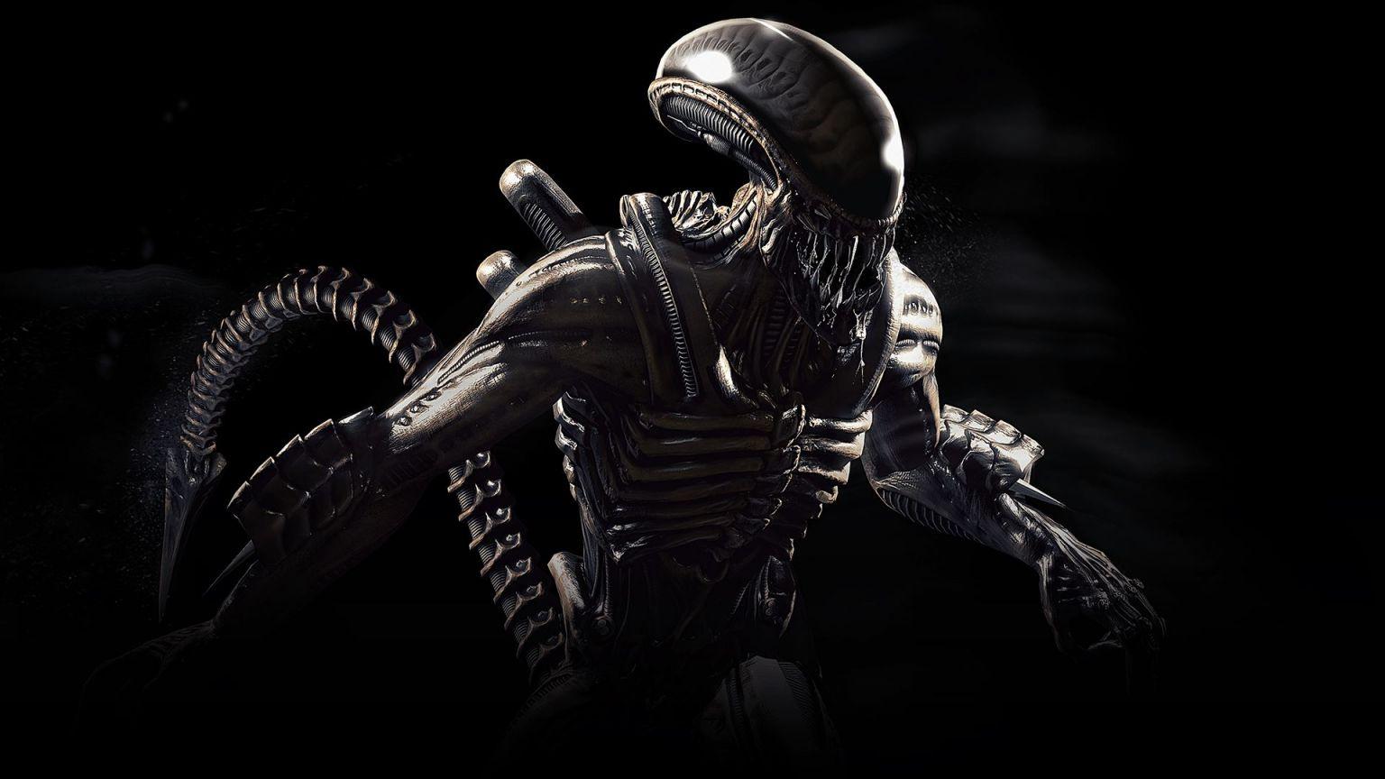 Alien Mortal Kombat X wallpaper in 1536x864 resolution 1536x864
