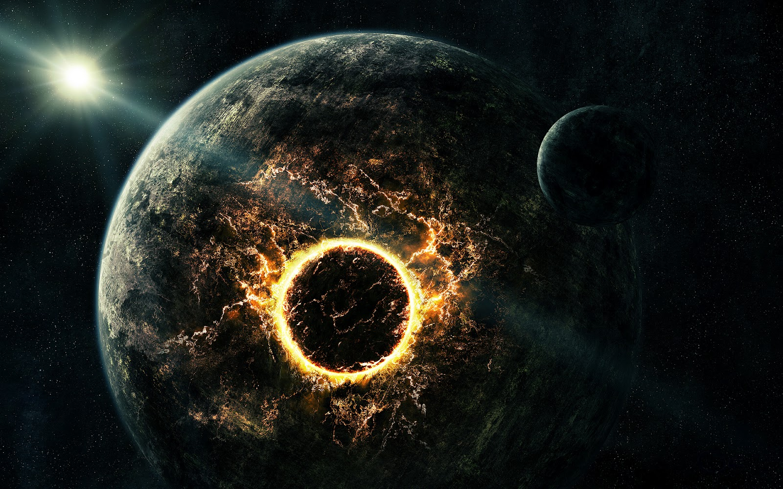 Awesome Planet Explosion HD Wallpaper The Wallpaper Database 1600x1000