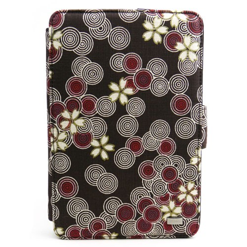 Rotating Smart Cover Case with Stand for Amazon Kindle Fire 7 Cocoa 500x500