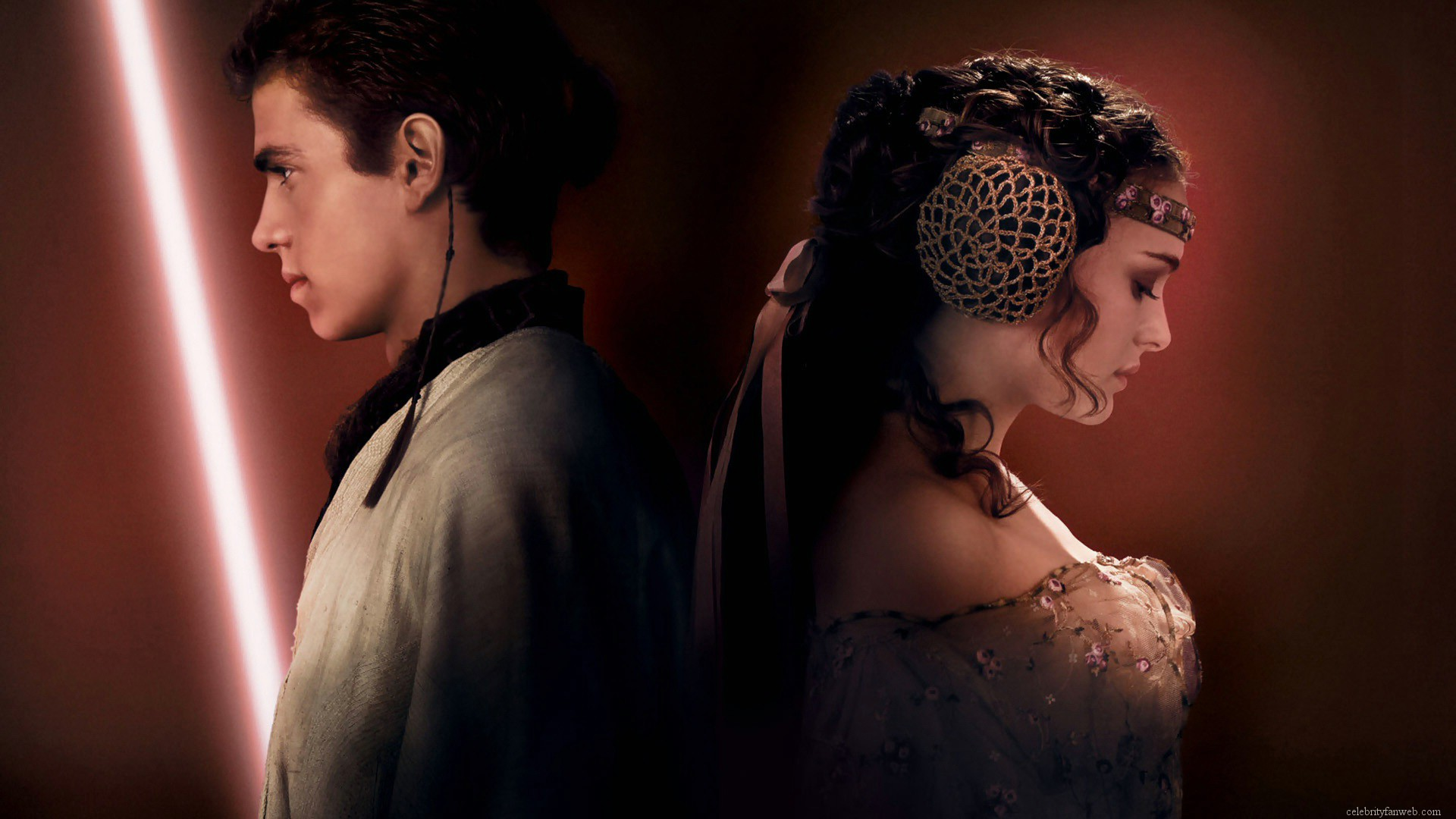 ani and padme   Anakin and Padme Wallpaper 30672109 1920x1080