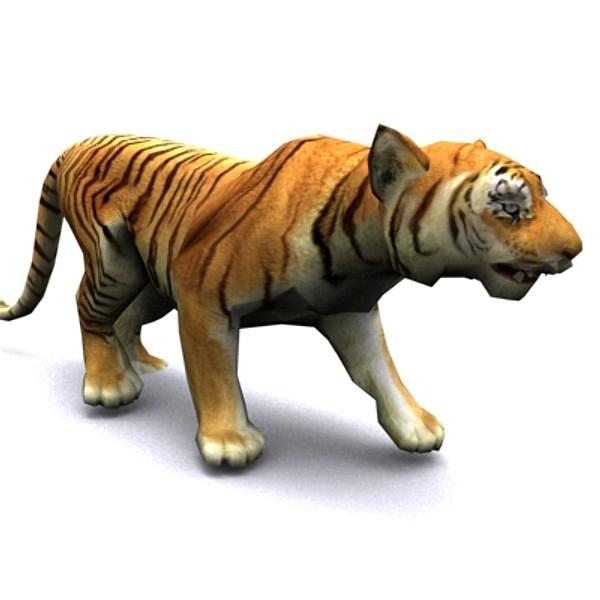 Animated Tiger Wallpaper - WallpaperSafari
