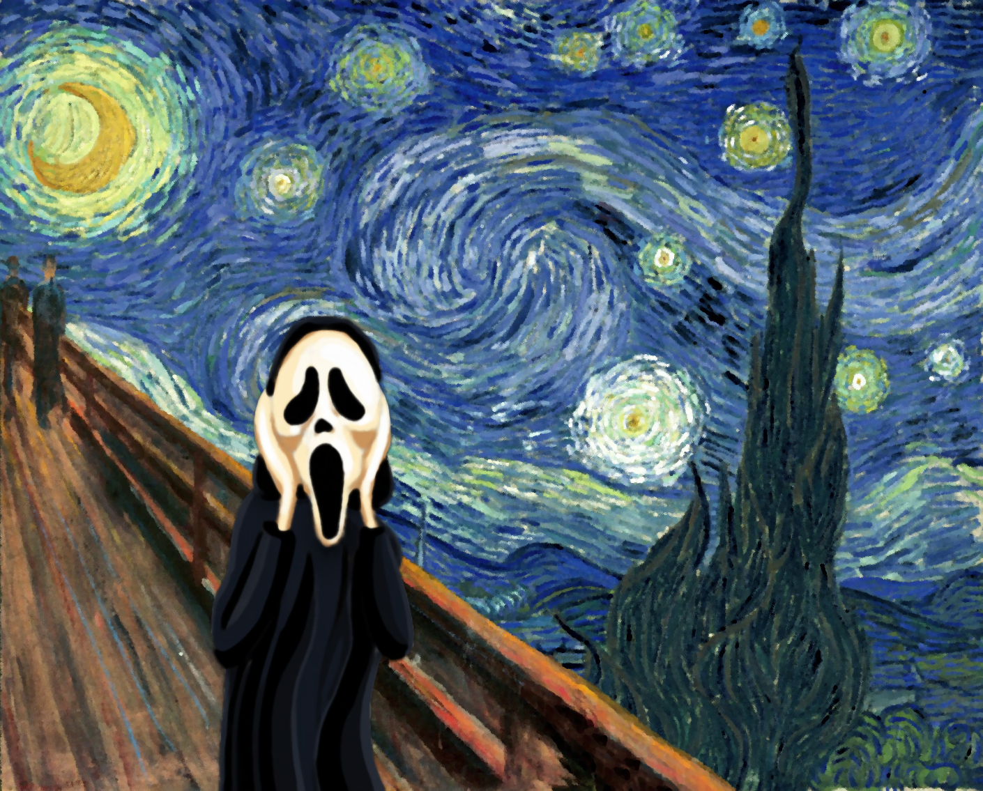 Free Download Van Gogh Scream The Scream By Edvard