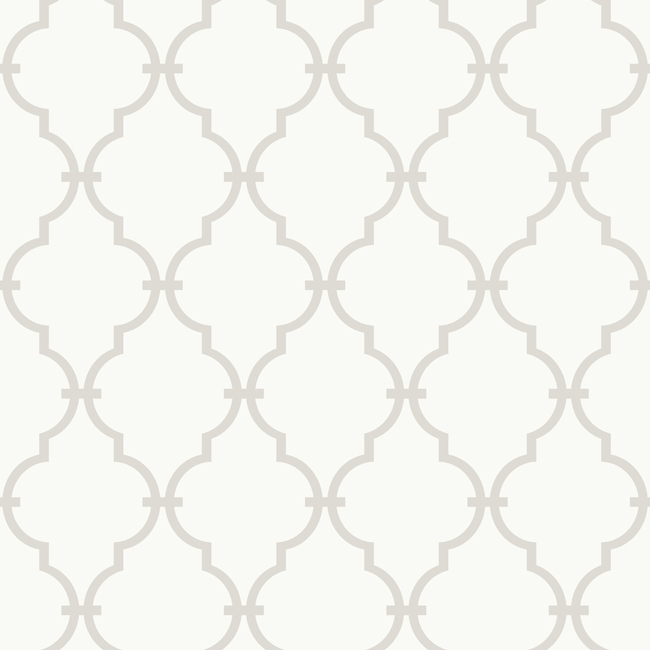 Rooms Sale Items On Sale Gray and White Modern Trellis Wallpaper 650x650