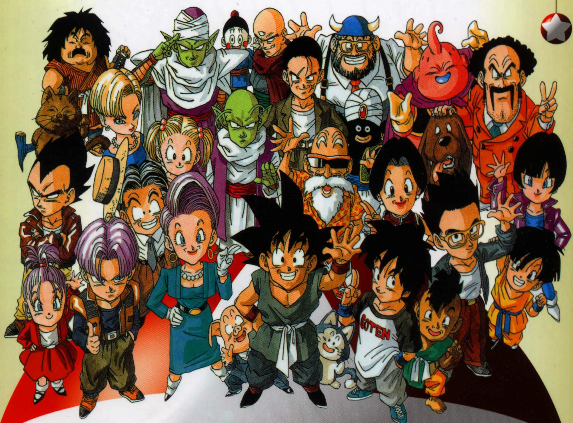Dragon Ball GT HD Wallpapers 2006x1481