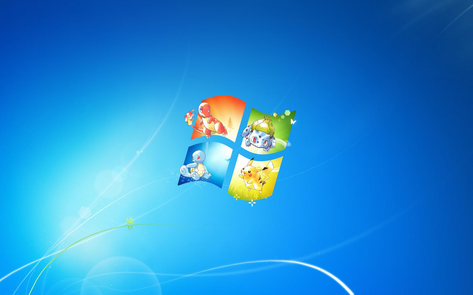 Pokemon Wallpaper Windows Seven 9272 Wallpaper 1600x1000