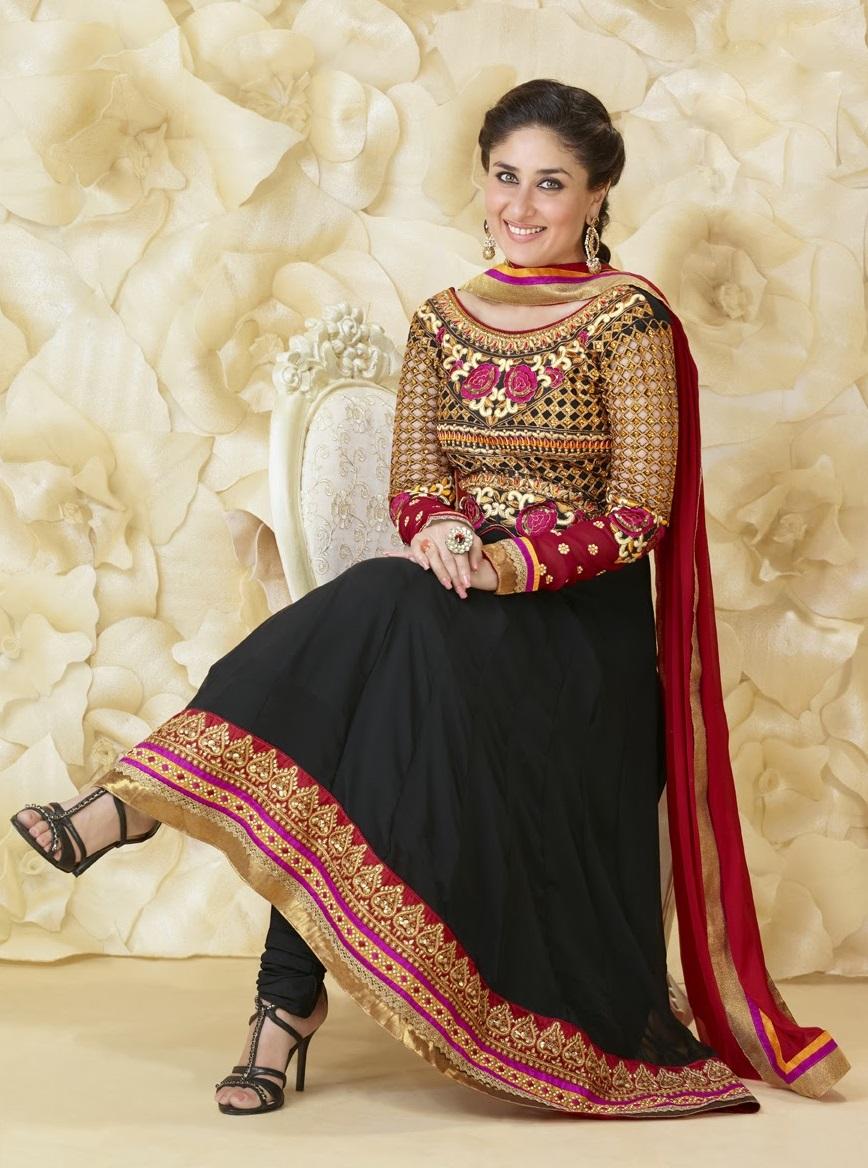 Kareena Kapoor Khan Latest Anarkali Suit Pics Photos Images 868x1168