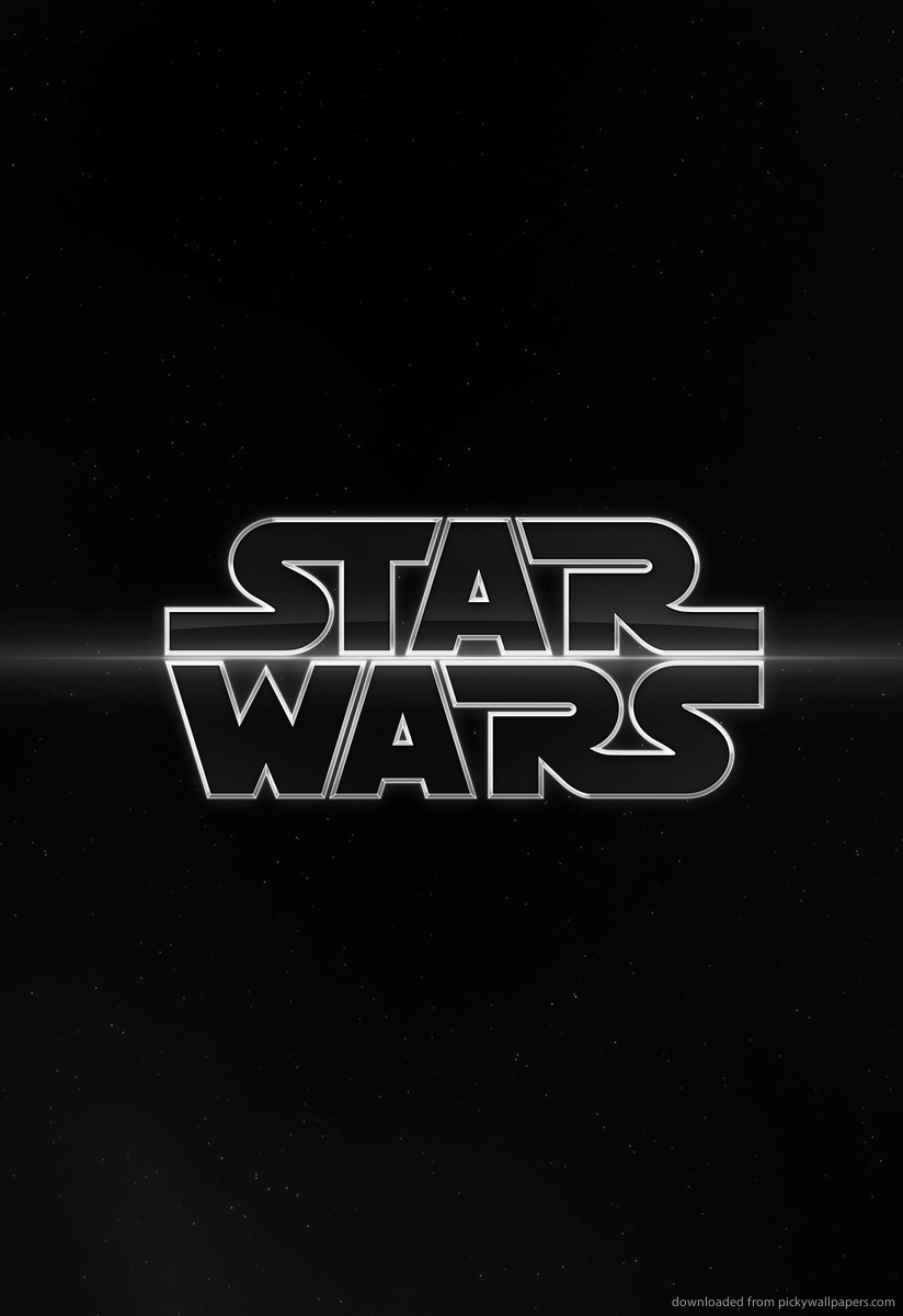 Download Star Wars Logo Screensaver For Amazon Kindle DX 824x1200