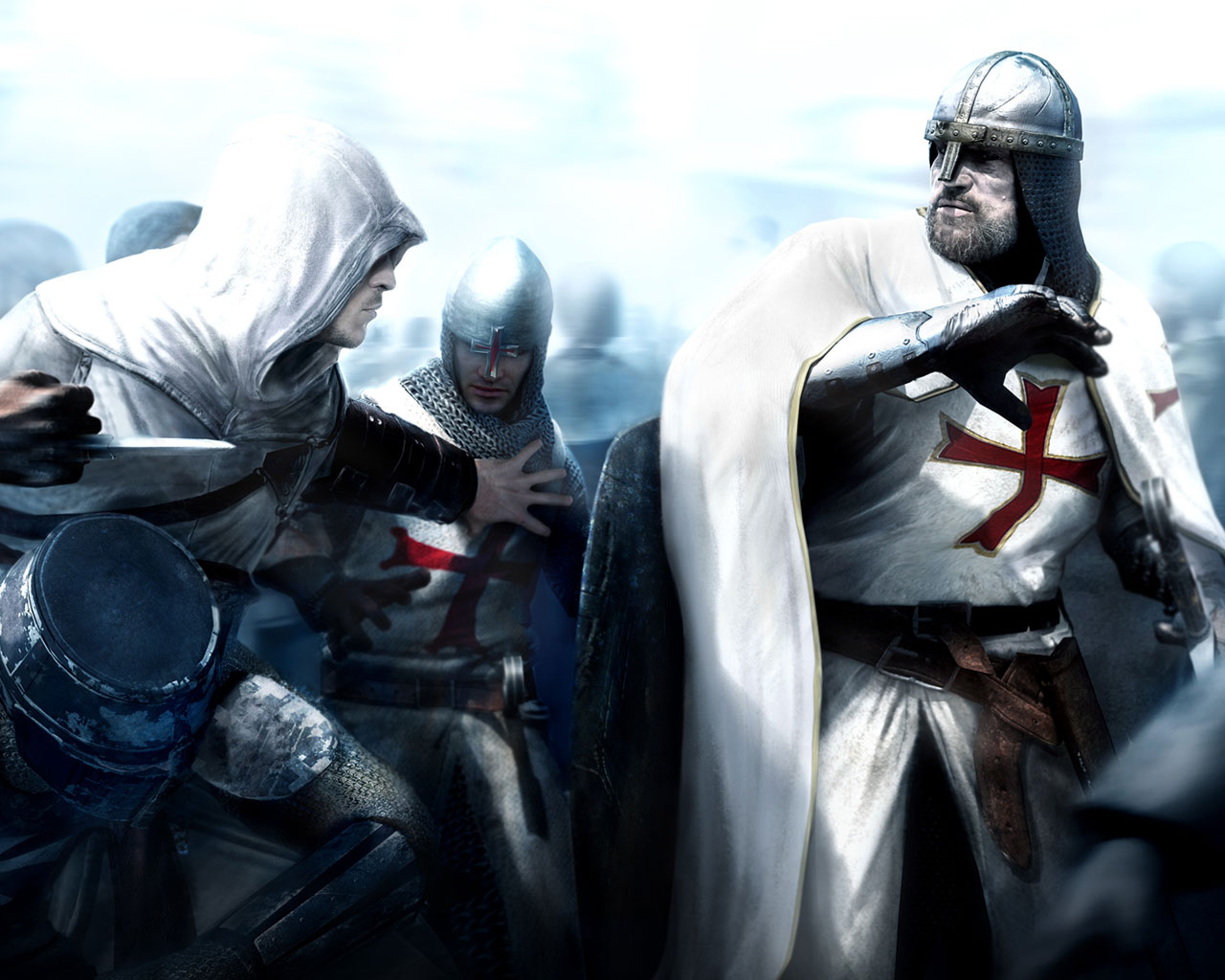Knight Templar Assassin Creed 1280x1024