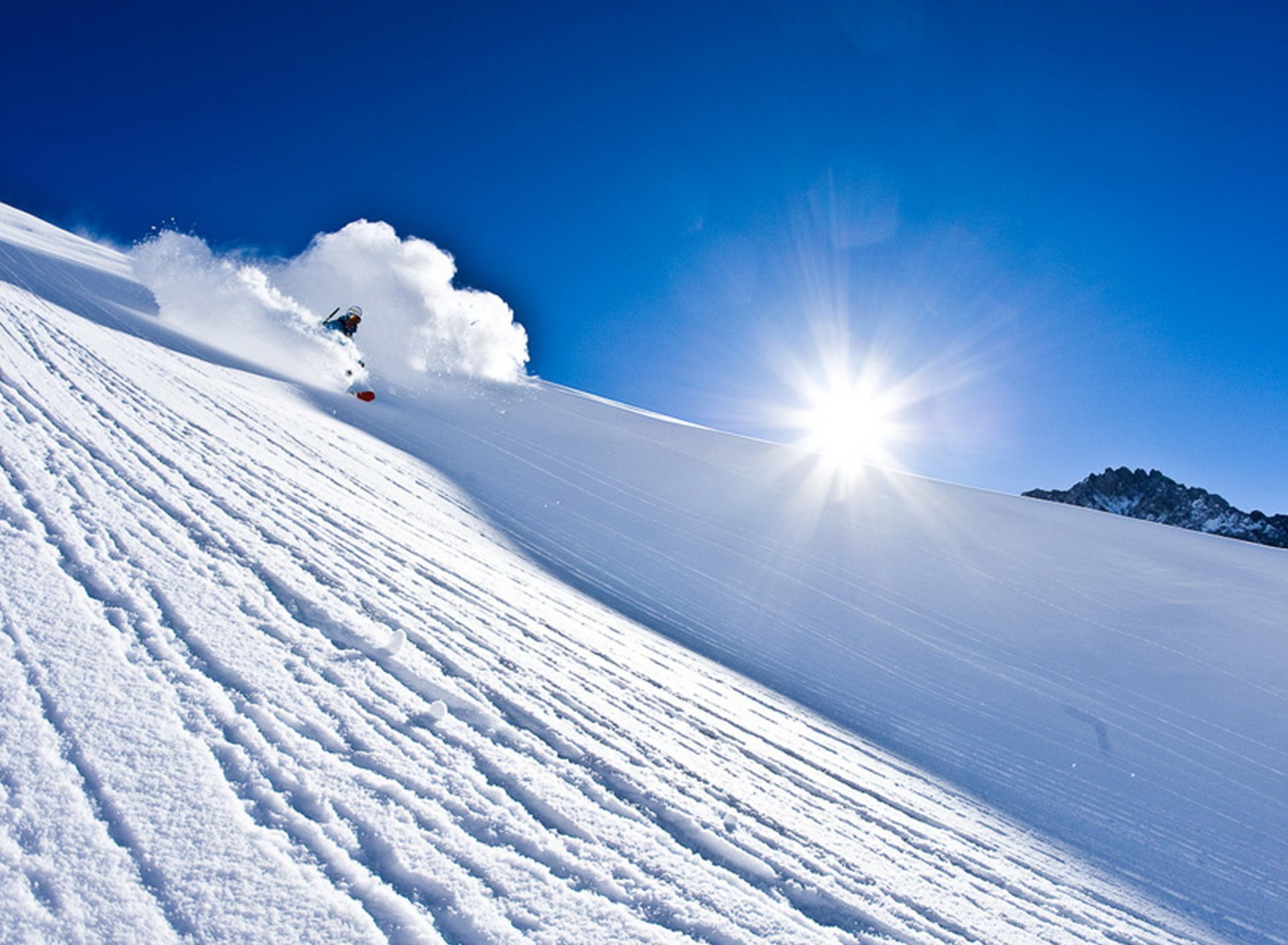 skiing Winter Snow Ski Mountains Wallpapers HD Desktop and 1920x1408