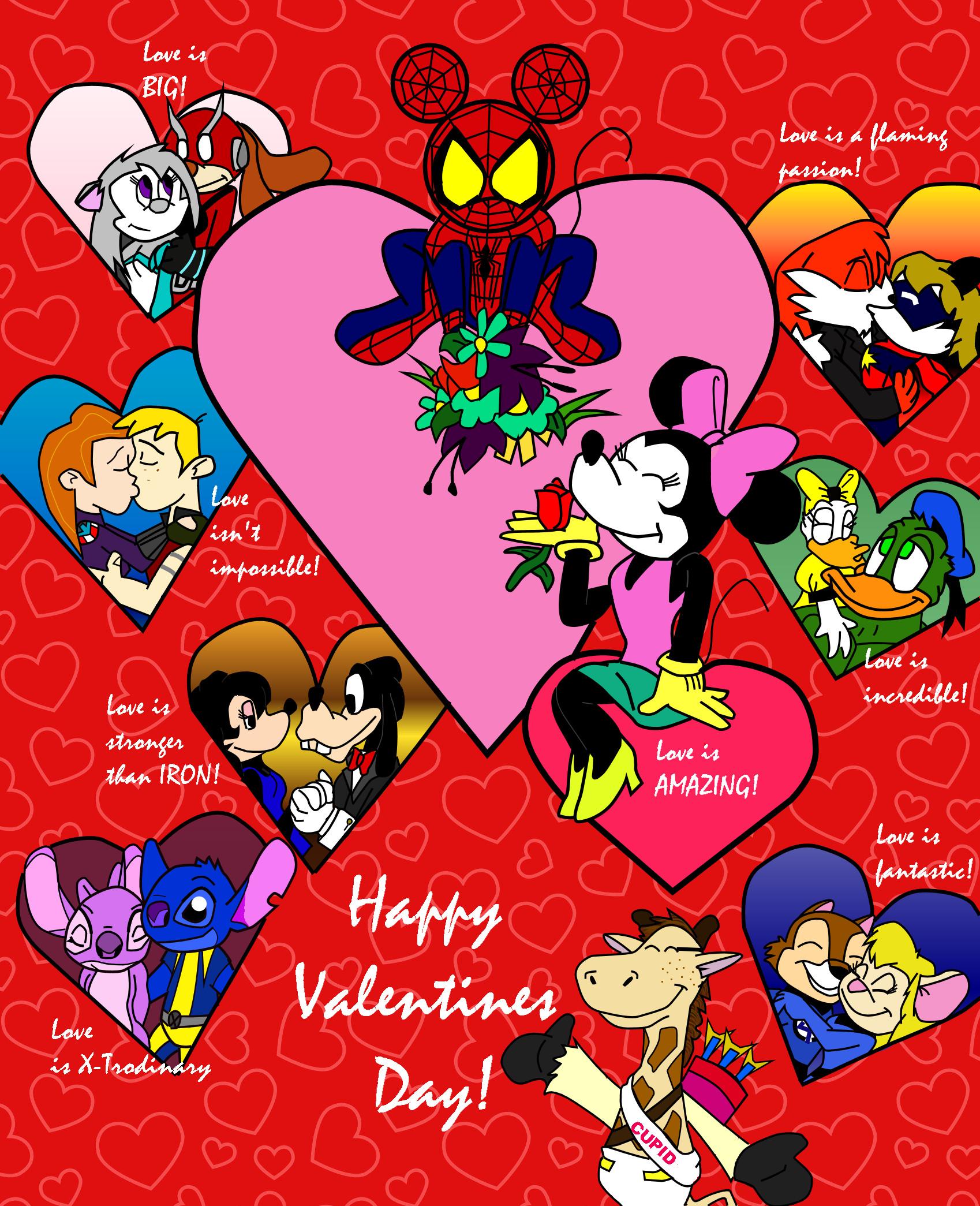 Disney Valentine's Day Wallpaper - WallpaperSafari